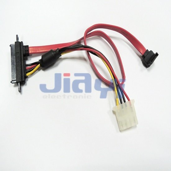 SATA 22P Custom Cable Assembly - SATA 22P Custom Cable Assembly