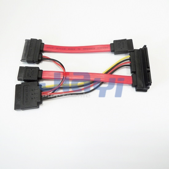 Custom Design SATA Cable Assembly - Custom Design SATA Cable Assembly