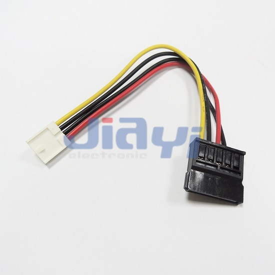 SATA Cable with SATA 15P Power Connector - SATA Cable with SATA 15P Power Connector