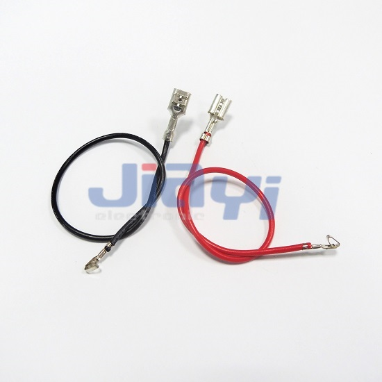 Wire Harness with Non-Insulated 187 Type Female Terminal - Wire Harness with Non-Insulated 187 Female Terminal