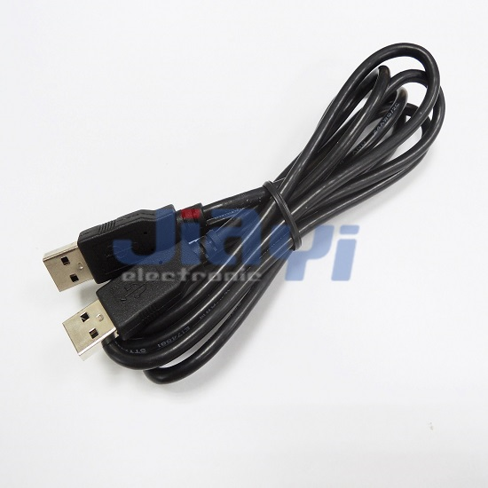 USB 2.0 A Type Male Cable Assembly - USB 2.0 A Type Male Cable Assembly