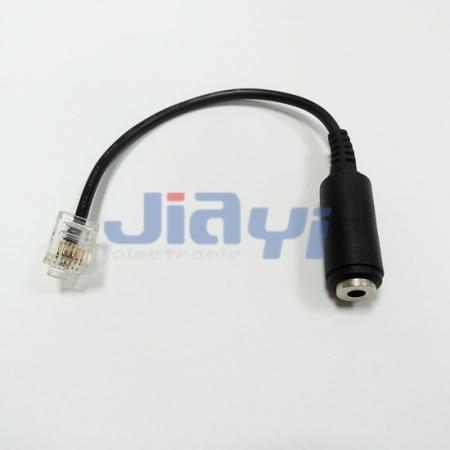 Stereo Female Jack Audio Cable Assembly - Stereo Female Jack Audio Cable Assembly