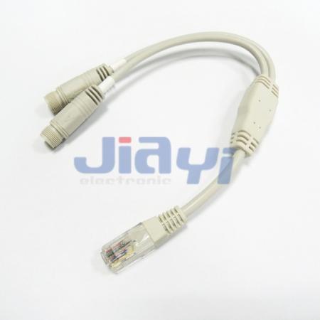 M12 wasserdichtes Kabel