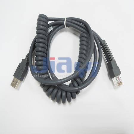 Ensamblaje de cable de bobina espiral - Ensamblaje de cable de bobina espiral