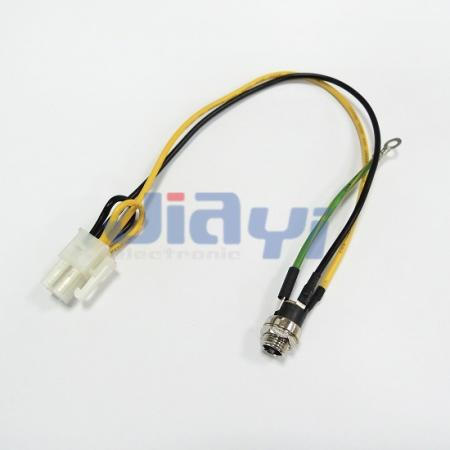 DC Jack Power Socket Wire Harness - DC Jack Power Socket Wire Harness