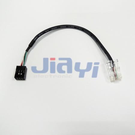 Mazo de cables y conjunto de cables