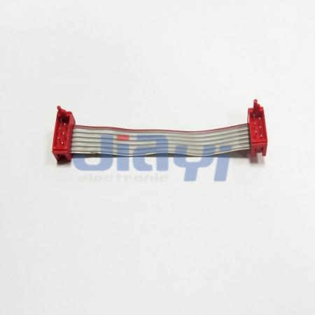 Ribbon Cable Assembly with Micro Match Connector