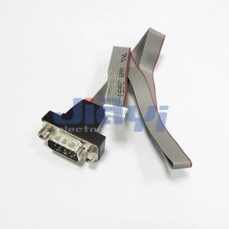 Ribbon Flat Cable Assembly with D-SUB Connector