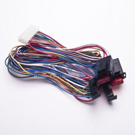 Car Blade Fuse Holder Wire Harness