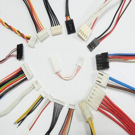 Harnais de fil de connecteur à sertir - Groupement de fils JST et Molex