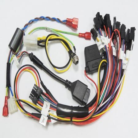 Faisceau de câblage personnalisé - Groupement de câbles, assemblage de câbles