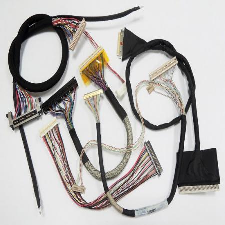 Groupement de fils LVDS et faisceau de câbles LCD - LVDS, LCD, faisceau de câbles IPEX