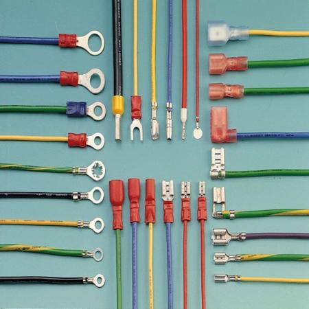 Solderless and Faston Terminal Wire Harness - Solderless Terminal Wire Harness