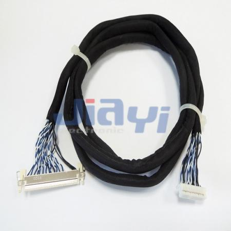 JAE FI-X LVDS and LCD Wire Harness