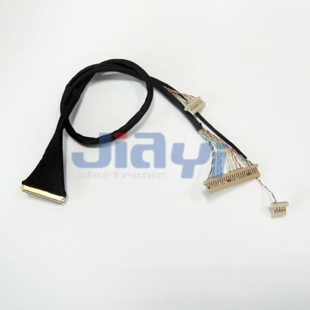 Custom IPEX 20453 LVDS Wiring Harness