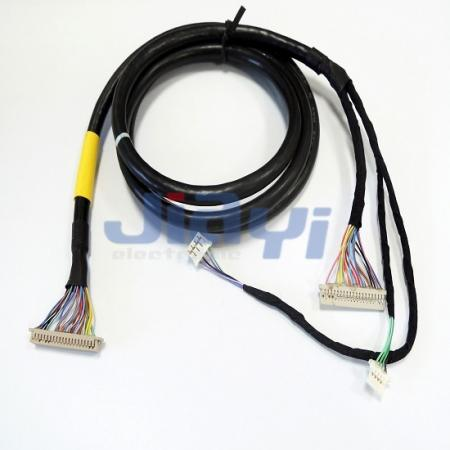 LCD Display Panel LVDS Cable Assembly