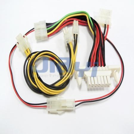 molex 5557 4 2mm pitch dual row connector wire harness cable and