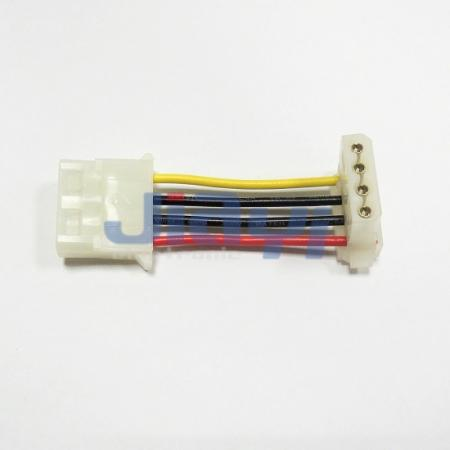 TE/AMP Commercial MATE-N-LOK 5.08mm Pitch IDC Connector Wire Harness - TE/AMP Commercial MATE-N-LOK 5.08mm Pitch IDC Connector Wire Harness