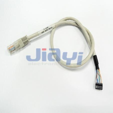 Custom RJ45 Network Cable Assembly - Custom RJ45 Network Cable Assembly