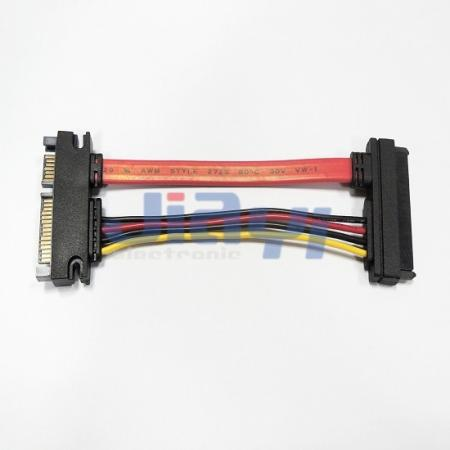 SATA 22P Extension Cable Assembly