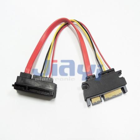 SATA 22P Male to Female Cable - SATA 22P Male to Female Cable