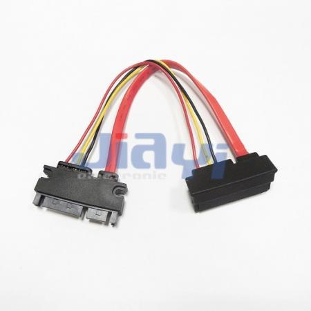 SATA 22P Male to Female Cable