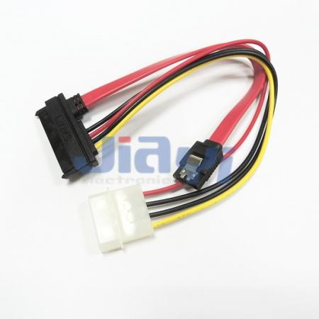SATA Data and Power Combo Cable Assembly