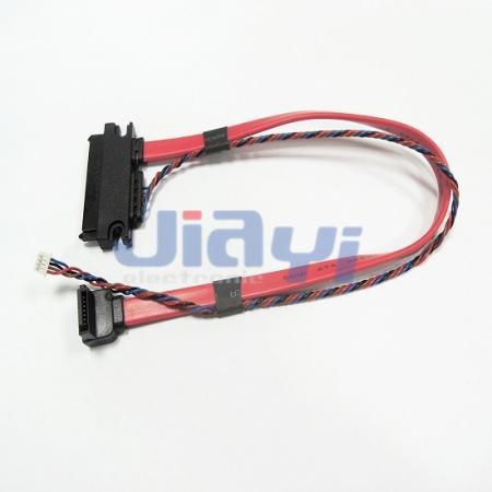 Custom SATA 22P Cable Assembly