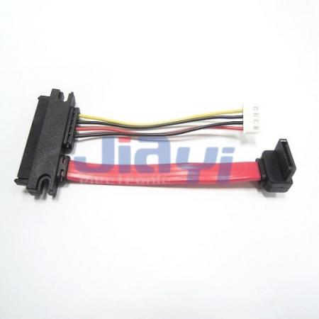 SATA Cable Assembly with 22P SATA Connector