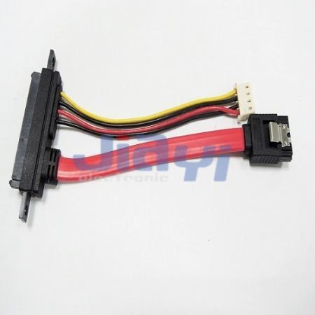 SATA 22P Custom Cable Assembly