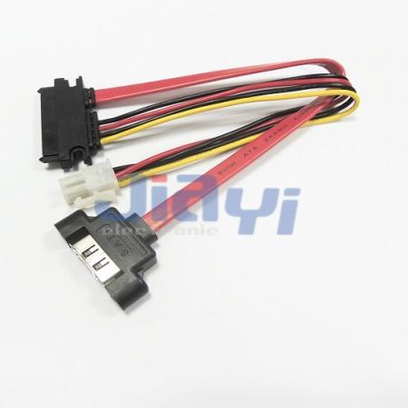 Panel Mount SATA Cable Assembly - Panel Mount SATA Cable Assembly