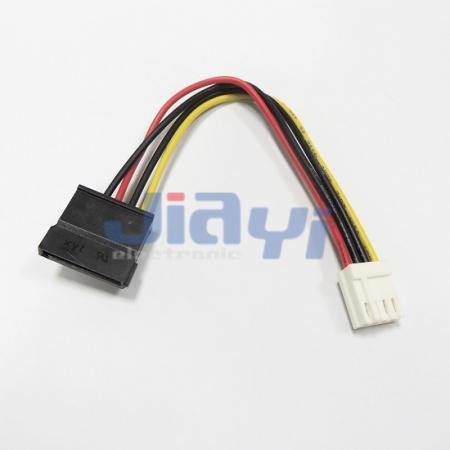 Cable SATA con conector de alimentación SATA 15P