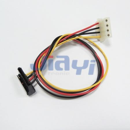 SATA 15P Right Angle Power Cable Assembly - SATA 15P Right Angle Power Cable Assembly