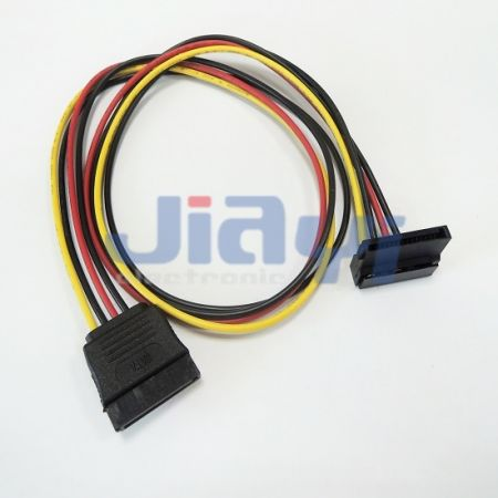 Custom SATA 15P Cable Assembly - Custom SATA 15P Cable Assembly