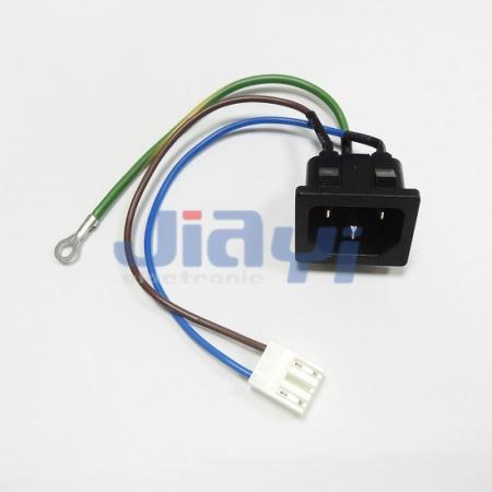 AC Power Socket Wire Harness