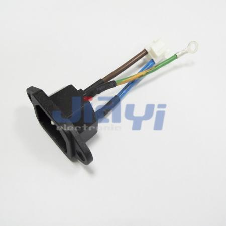 AC Power Socket Wire Harness