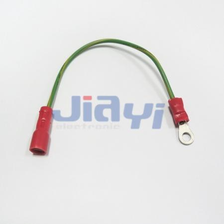 Custom Wiring Harness with Ring Tongue Terminal