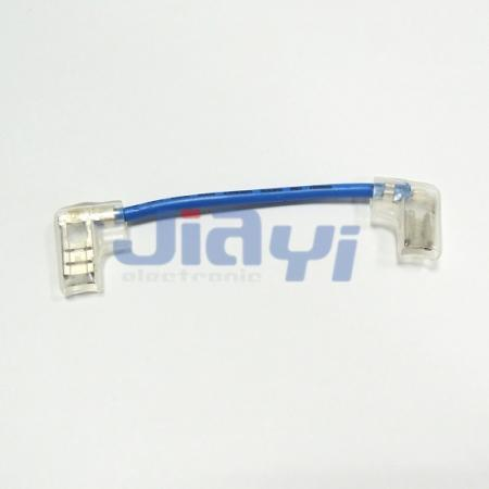 Non-Insulated Flag Terminal Wire Harness