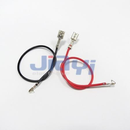 Wire Harness with Non-Insulated 187 Female Terminal - Wire Harness with Non-Insulated 187 Female Terminal