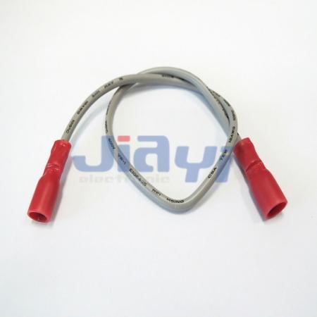 Fully Insulated 187 Female Terminal Harness Wire - Fully Insulated 187 Female Terminal Harness Wire
