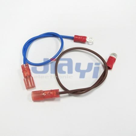 Nylon Insulated 187 Type Female Assembly Harness - Nylon Insulated 187 Female Assembly Harness