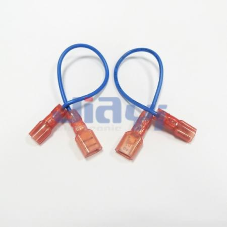 250 Nylon Insulated Female Terminal Wiring Harness - 250 Nylon Insulated Female Terminal Wiring Harness