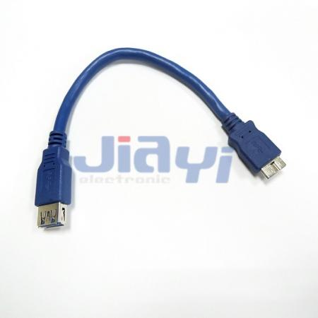 USB 3.0 A Type Female Cable Assembly - USB 3.0 A Type Female Cable Assembly
