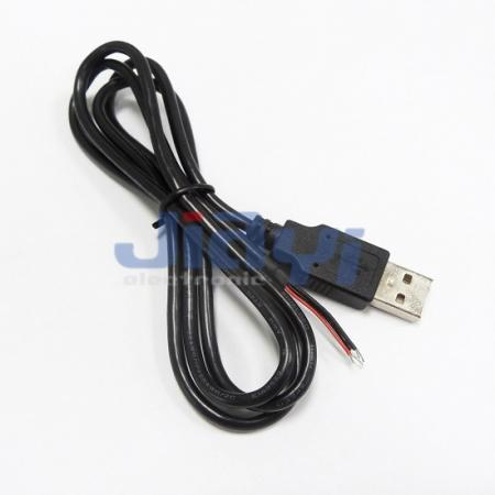 USB 2.0 A Type Male Cable Assembly