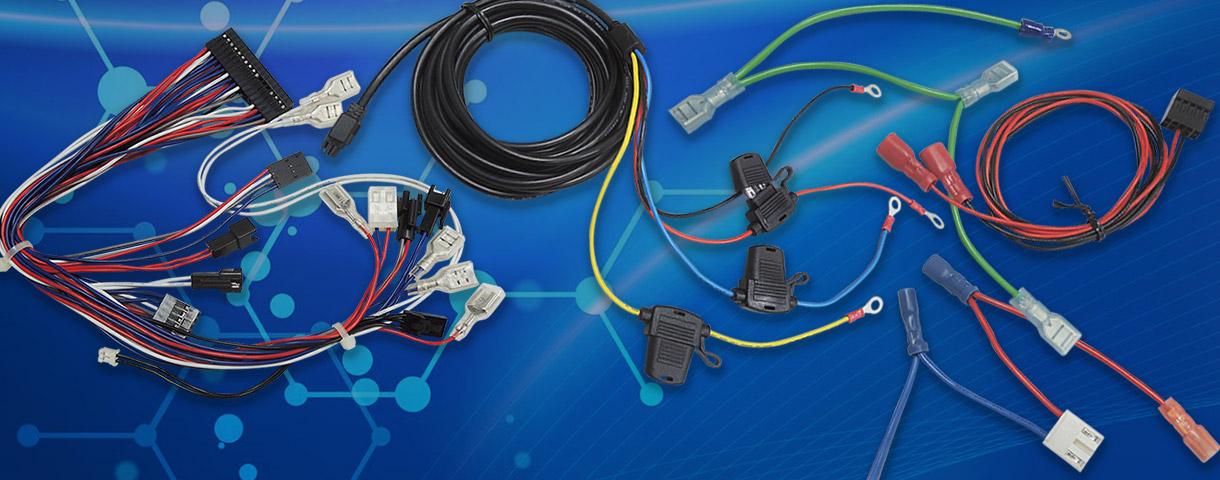 デザインの配線、デバイスのケーブル接続