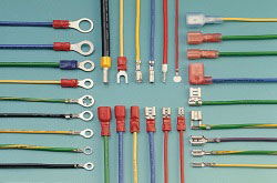 Solderless and Faston Terminal Wire Harness