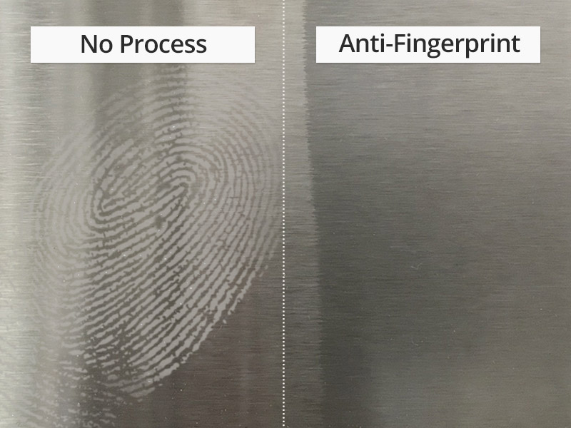 Anti-Fingerprint Stainless Steel Sheet Manufactured by Pre-Painting Process.