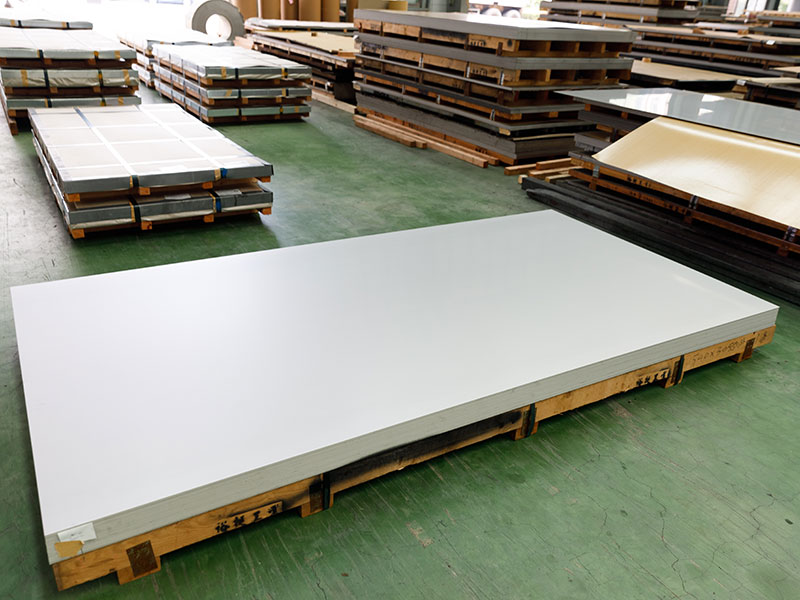 Stainless Steel Plate - No.1 Finish 3mm ~ 14mm