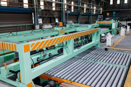 Stainless Steel Plate Cut To Length Line