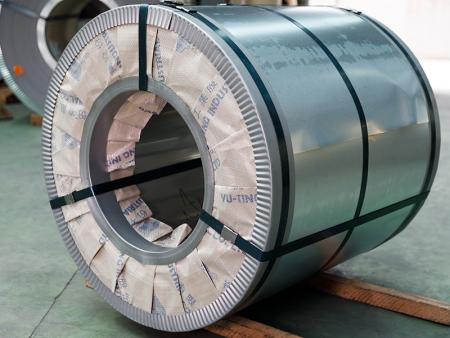 AISI 301 stainless steel coil contains with 6% of nickel, its hardness will increase dramatically after cold work.